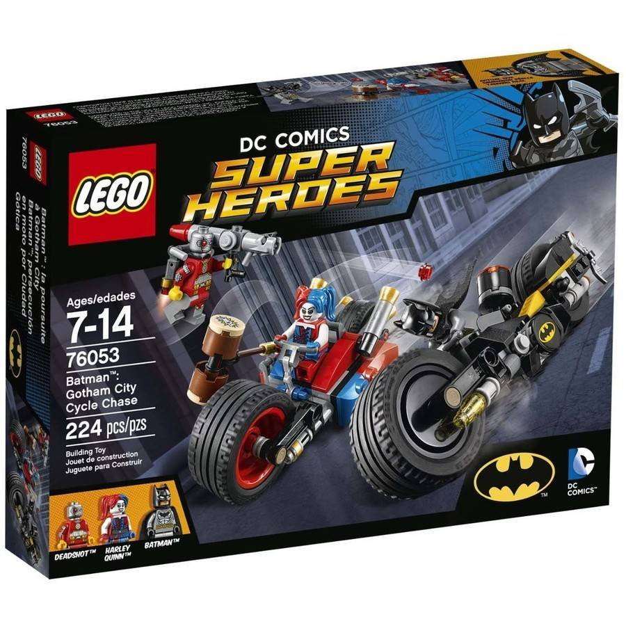 LEGO Super Heroes Batman: Gotham City Cycle Chase, 76053