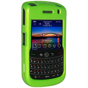 - Premium Polished Neon Green Snap On Hard Shell Case for BlackBerry Bold 9650, BlackBerry Niagra 9630, Blackberry Tour 9630