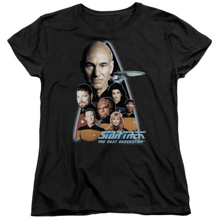 Star Trek The Next Generation Womens Short Sleeve Shirt - Star Trek Womens Uniform