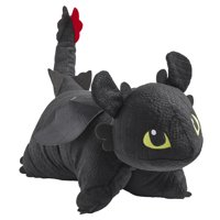 "Pillow Pets NBCUniversal How to Train Your Dragon Toothless 16"" Stuffed Animal Plush Toy"