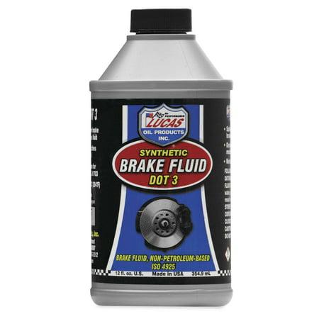 - Lucas Oil 10825 Dot 3 Brake Fluid