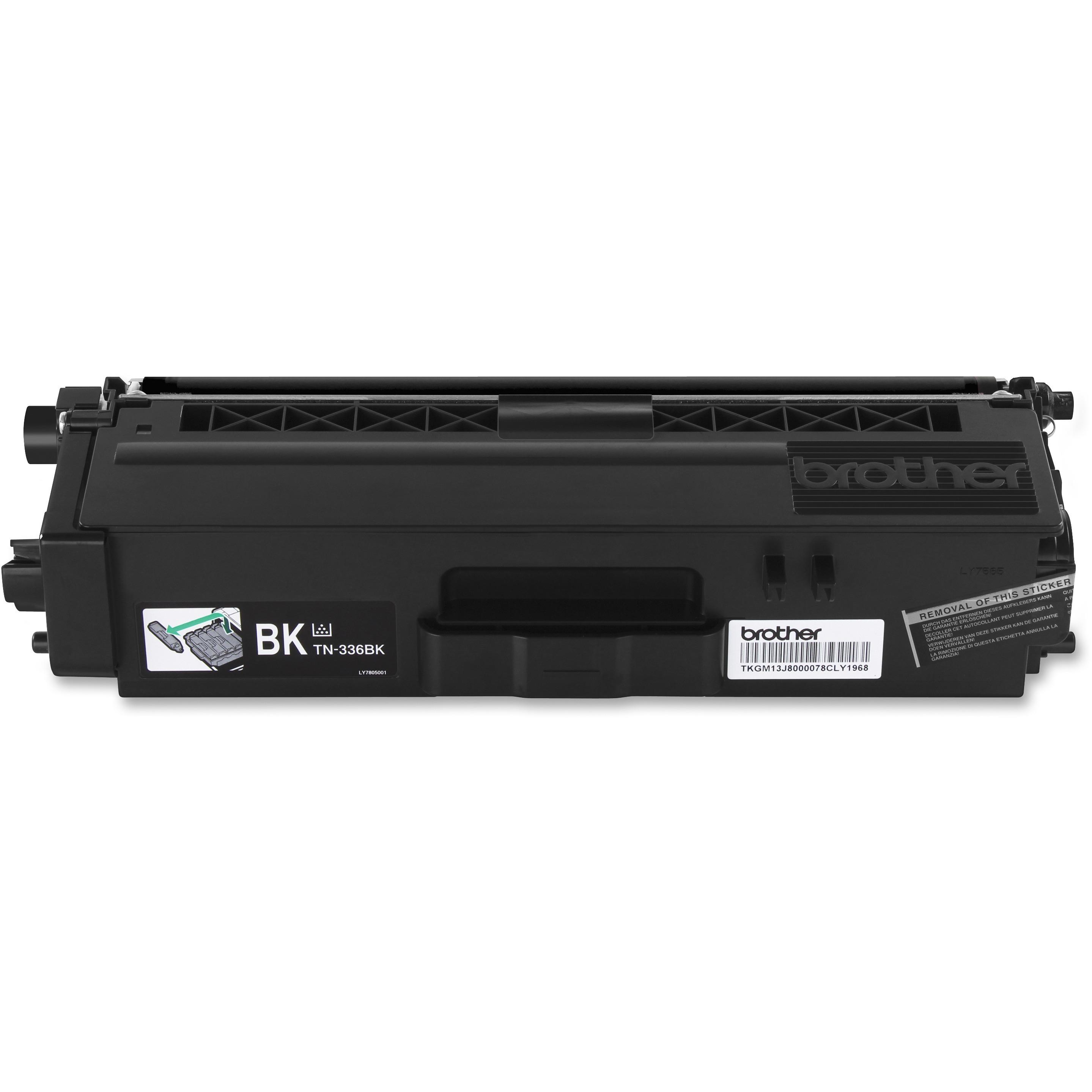 5 Pack Set TN-336BK TN-336 HY Black /& Color Printer Toner Cartridge for Brother