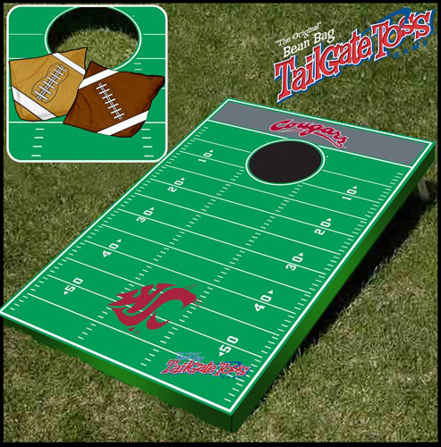 Washington State Tailgate Toss Cornhole Beanbag Game