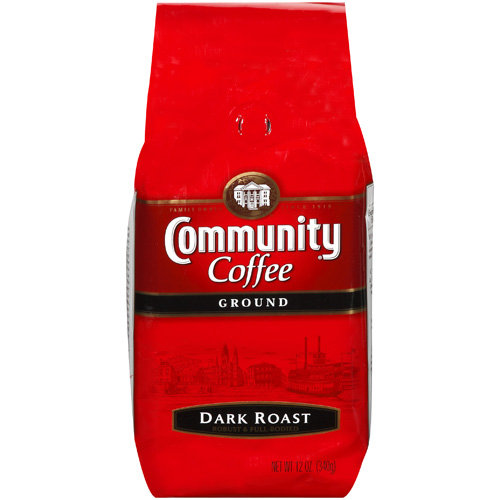 Community Coffee Dark Roast Coffee, 12 oz