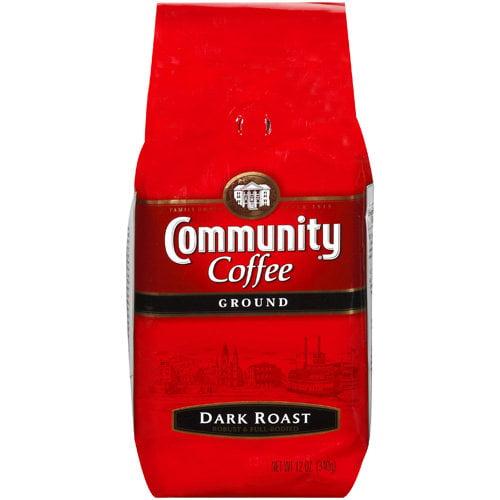 Community Coffee Dark Roast Coffee, 12 oz