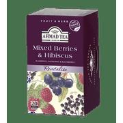 Ahmad Tea, Mixed Berries & Hibiscus Tea, 20 ct, 1.4oz (Pack of 6)