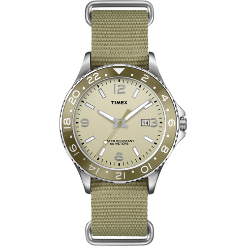 Timex Men Silver Analog Watch T2P035