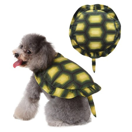 Chihuahuas In Halloween Costumes (Dog Cute Tortoise Design Coat Puppy Halloween Cosplay Costume Clothes for Chihuahua Yorkie Coat Party Dress Up)