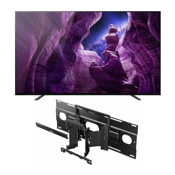Sony XBR-65A8H 65-Inch BRAVIA OLED 4K Smart TV with Wall Mount Bracket