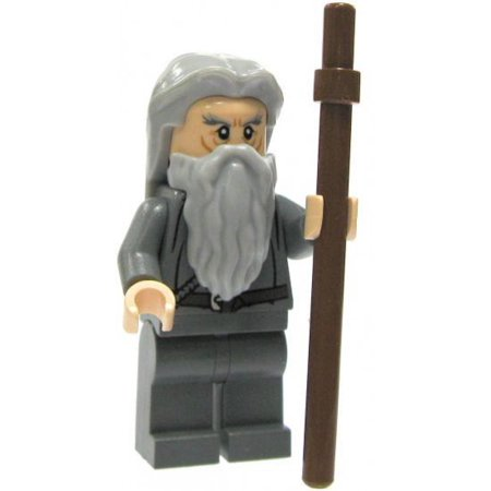 LEGO The Lord of the Rings Gandalf Minifigure [No Hat or Cloak] [No