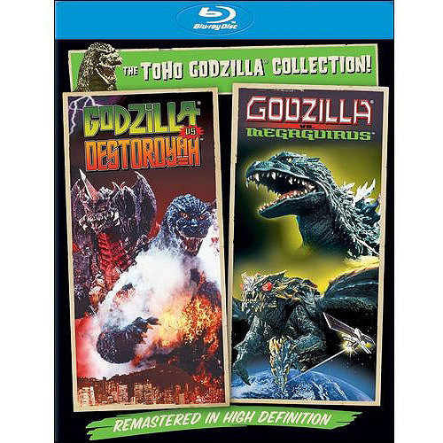 Godzilla Vs. Destoroyah / Godzilla Vs. Megaguirus: The Annihilation Strategy (Blu-ray) (With INSTAWATCH) (Anamorphic Widescreen)