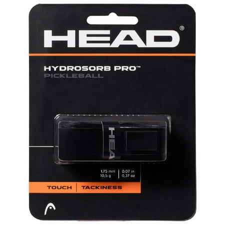HEAD Hydrosorb Pro Pickleball Replacement Grip (Black) Replacement Grip Head