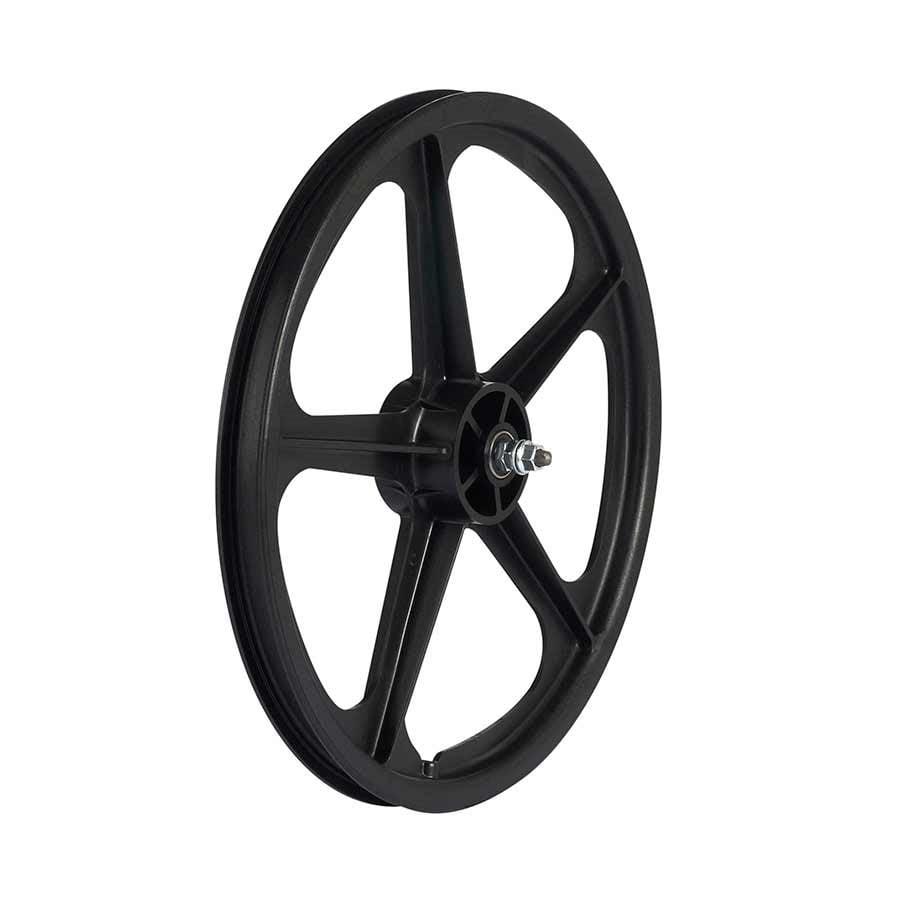 """Skyway, Tuff II wheel set 20X1.75"""" 3/8"""" nutted FW 5 Spk Bk"""