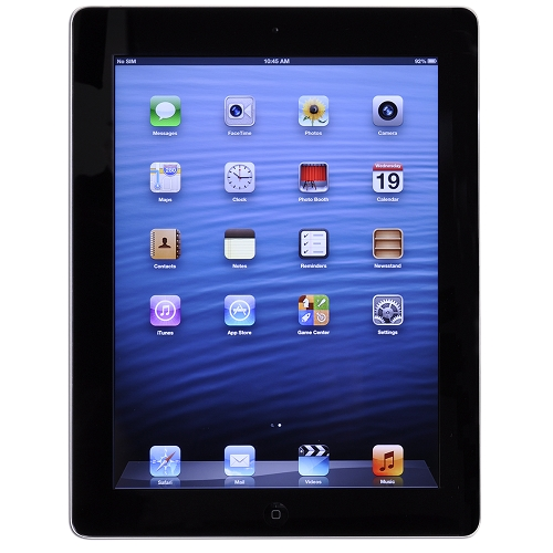 Apple iPad with Wi-Fi 16GB - Black (3rd generation)
