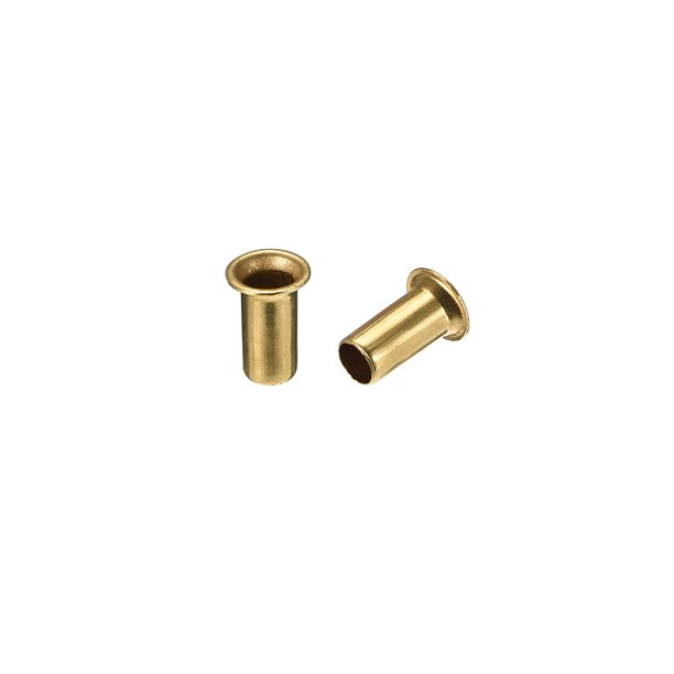 Hollow Rivet 5mm X 10mm Through Hole Copper Rivets Grommets Double Sided Circuit Board Pcb 200 Pcs Walmart Com