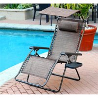 Pemberly Row Oversized Chair in Brown Mesh (Set of 2)