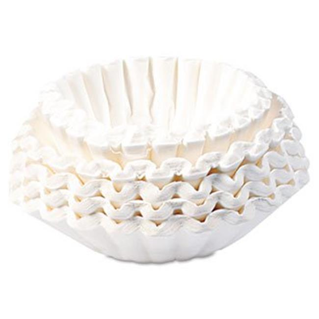 Bunn-O-Matic 1M5002 Commercial Coffee Filters, 12-Cup Size, 1000 Filters Per Carton