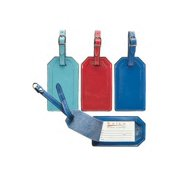 PY 135 RED Luggage Tag - Red