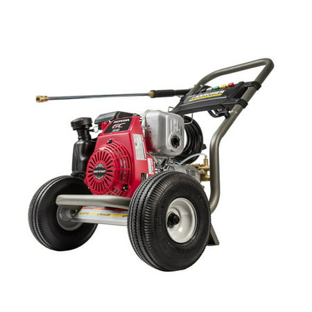 how to start a honda gas pressure washer