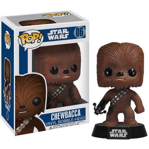 FUNKO Pop! Star Wars Chewbacca Vinyl Bobble Head Figure