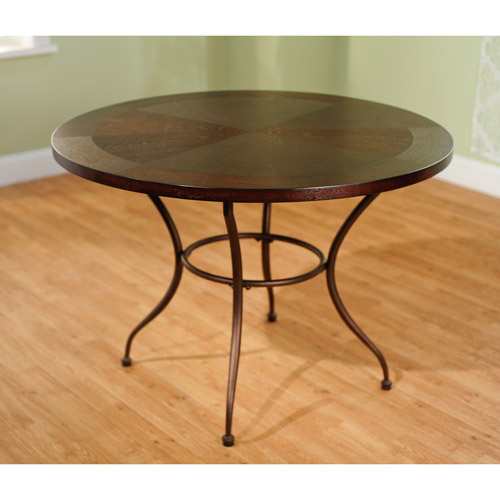 round metal top dining table metal dining table walmart 7819
