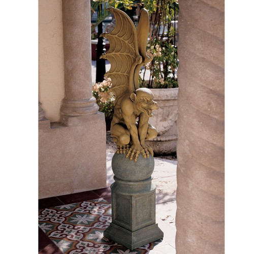 Design Toscano Talysus The Terrible Gargoyle Statue