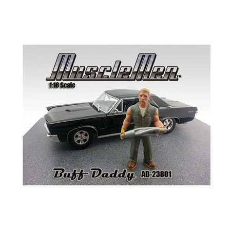 Musclemen Buff Daddy Figure for 1:18 Diecast Car Models by American Diorama - image 4 of 4