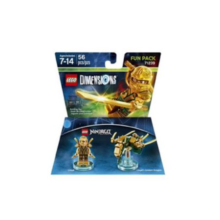 Lego Dimensions Ninjago Lloyd Fun Pack](Lego Lloyd)