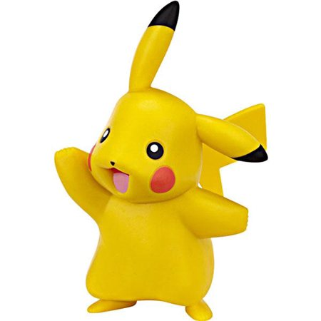 Pokemon Diamond & Pearl Pikachu Figure [Standing & Waving, No -