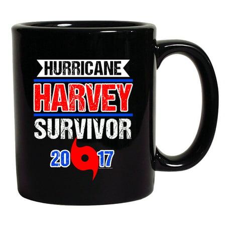 Hurricane Harvey Survivor Cyclone Symbol 2017 Houston Texas DT Coffee 11 Oz Black (Cyclone Anayas Mexican Kitchen Houston Tx 77024)