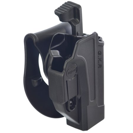 Orpaz Glock 19 Holster Fits Also Glock 17 Glock 22 Glock 23 Glock 26 and Glock 34 Paddle Holster