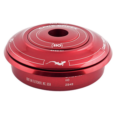 Cane Creek 110 ZS44/28.6 Short Cover Top Headset Red