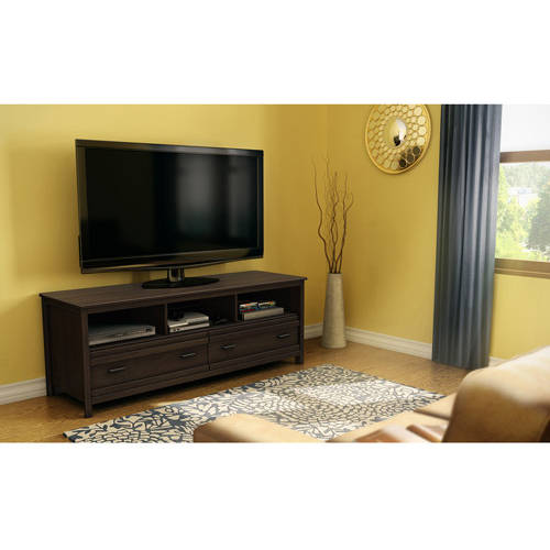 "South Shore Exhibit TV Stand for TVs up to 60"", Multiple Finishes"