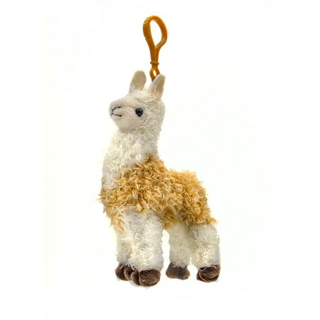 B-THERE Llama Stuffed Animal Plush Keychain - Llama Stuffed Animal