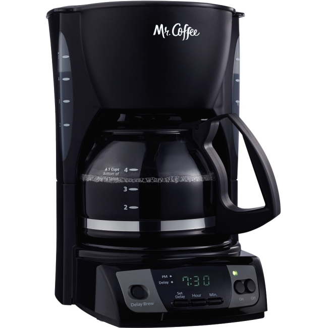 Mr. Coffee Simple Brew 5-Cup Programmable Coffee Maker Black - Programmable - 5 Cup(s) - Black
