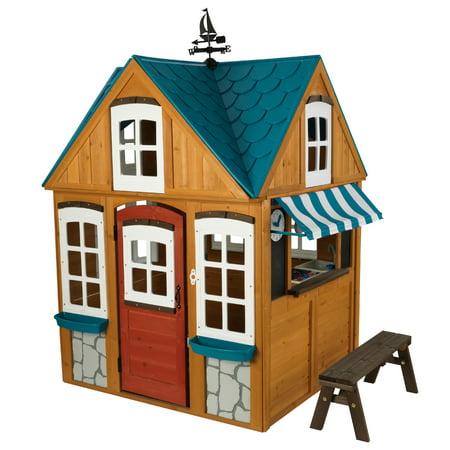 KidKraft Seaside Cottage Outdoor Playhouse ()