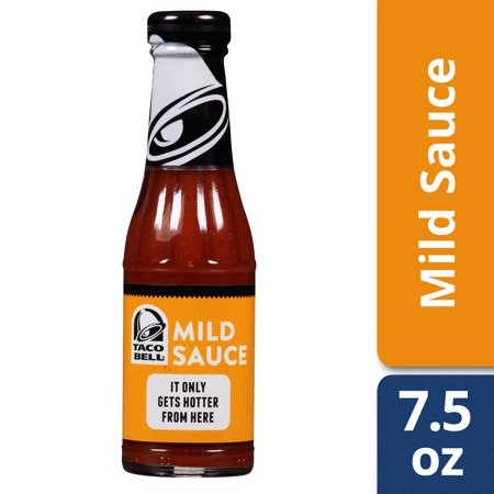 Taco Bell Chihuahua ((3 Pack) Taco Bell Mild Sauce, 7.5 oz Bottle )