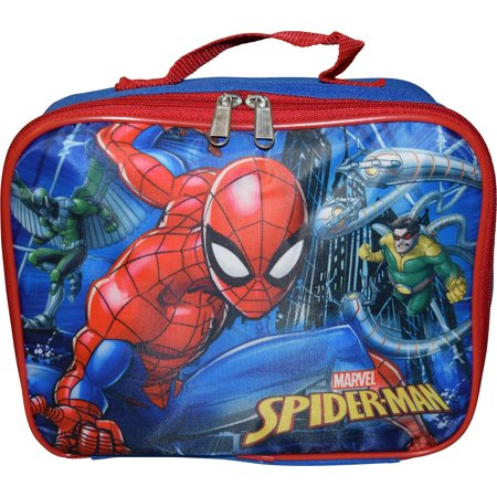 Marvel Spiderman Insulated Lunch Box](Spiderman Lunch Box)