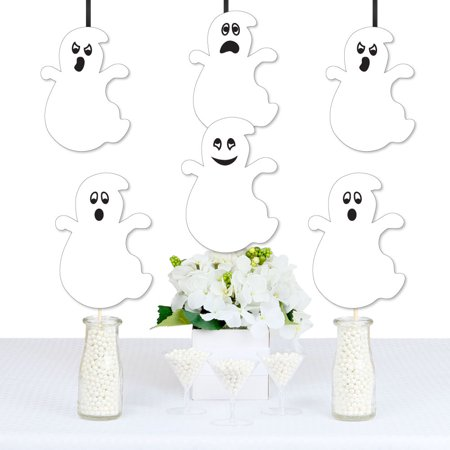 Spooky Ghost - Ghost Decorations DIY Halloween Party Essentials - Set of 20