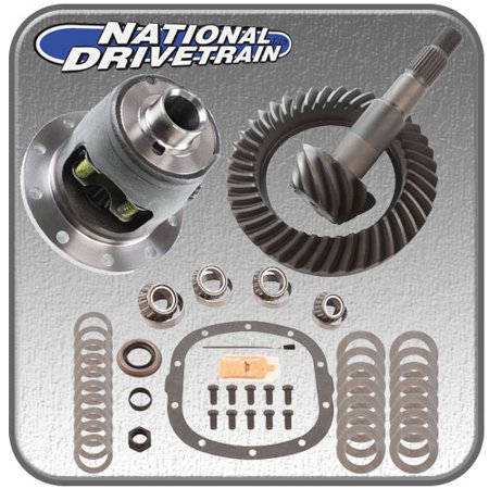 RING AND PINION, BEARING INSTALL KIT & NEW POSI - GM 10 BOLT 7.625 28 SPL - 4.10