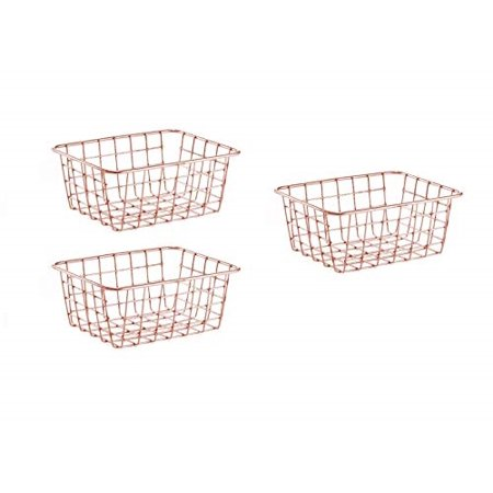 SINARDO Wire Storage Basket Organizer Bin Baskets for Kithen ...