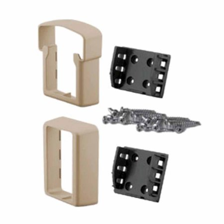 Fypon vinyl quickrail bracket and adapter kits straight Fypon quick rail