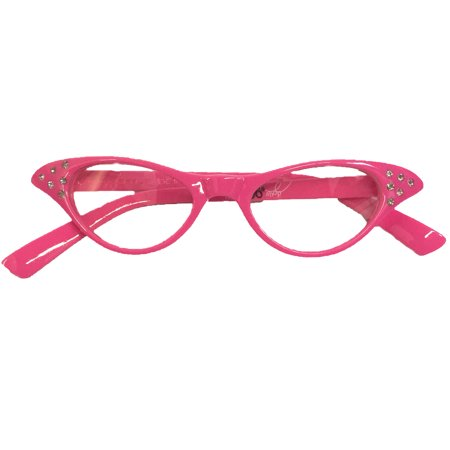 Toddler/Baby - 50's Cateye Glasses - Hot Pink](50s Style Glasses)