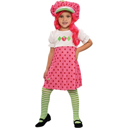 Girl's American Greetings Strawberry Shortcake Costume](Strawberry Shortcake Halloween Makeup)