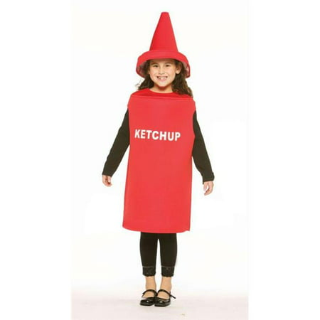 Costumes For All Occasions Gc975 Ketchup Child Costume - Kids Ketchup Costume