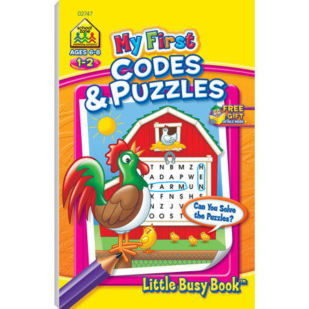 My 1St Codes And Puzzles By Non-License (Hardcover) - Walmart com