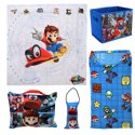 Super Mario 5-Piece Kids Bedroom Set