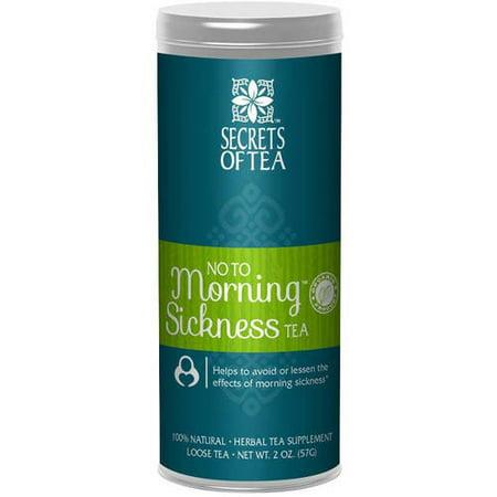 Secrets Of Tea Non à Nausées supplément à base de plantes de thé, 2 oz