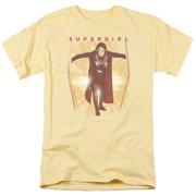 Supergirl Through The Door Mens Short Sleeve Shirt
