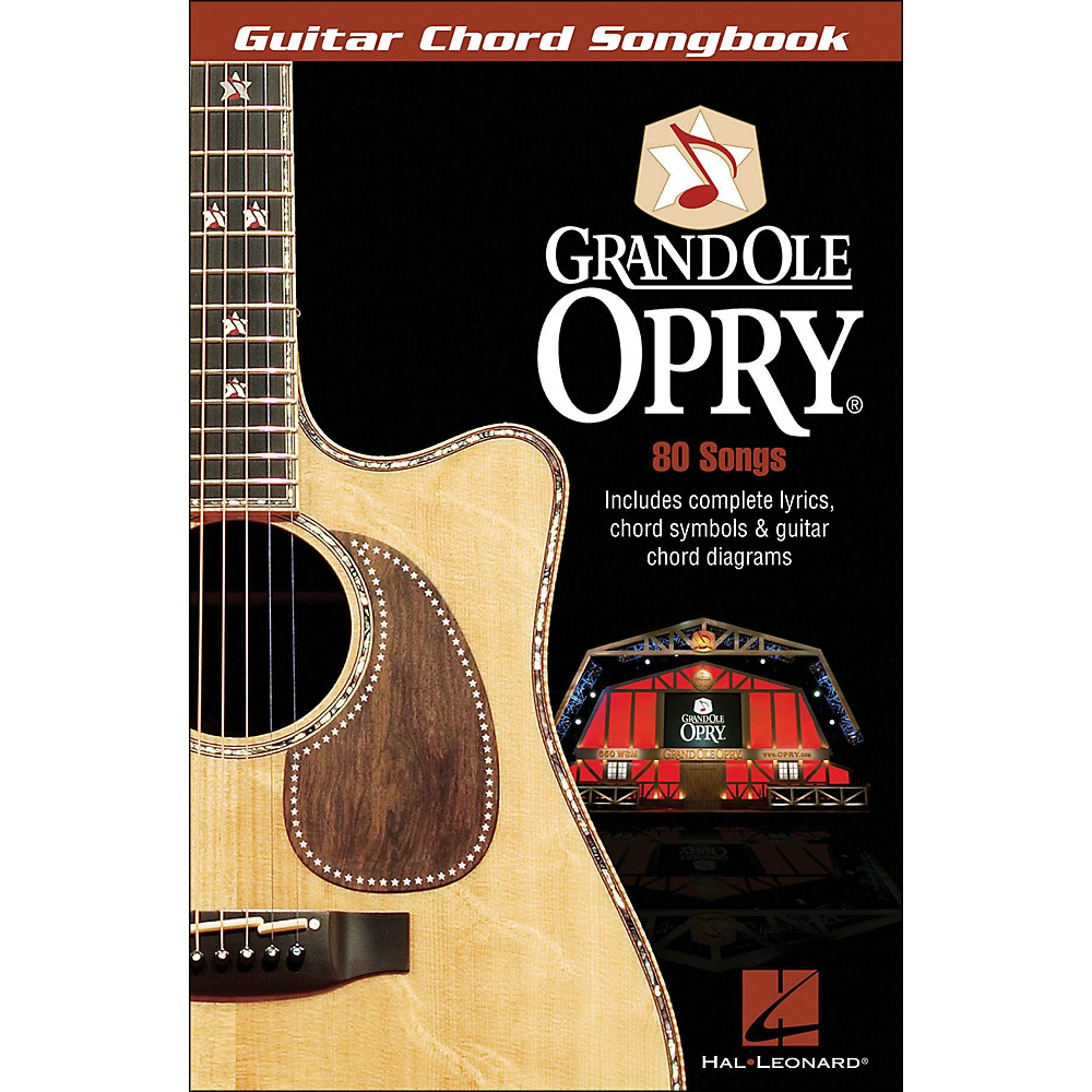 Hal Leonard The Grand Ole Opry Guitar Chord Songbook